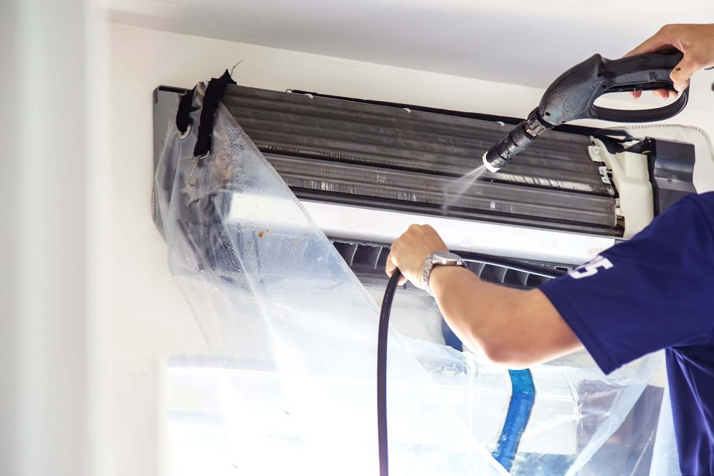 HVAC Cleaning with 28 Day BioBarrier from StereX